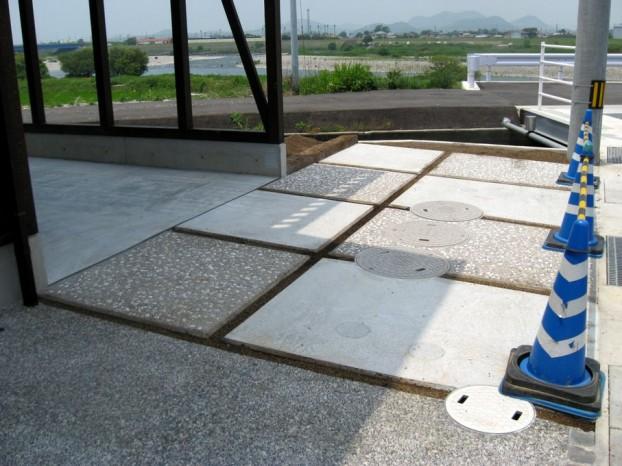 家の外観に合わせたシンプルなオープンスタイル外構 【香南市 H様邸】