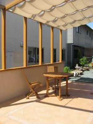ガーデンラウンジで真夏も快適ココマ 【高知市 K様邸】