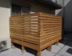 木製デッキサイプレス