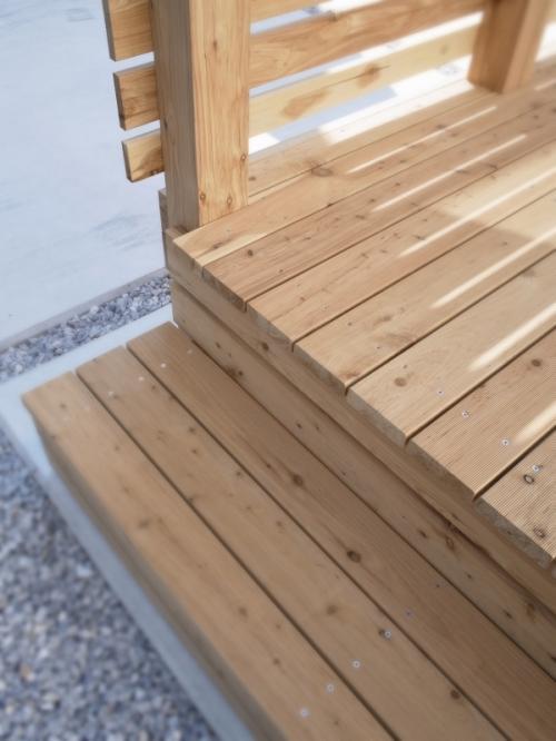 木製デッキサイプレス4